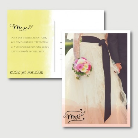 matisse thank you card