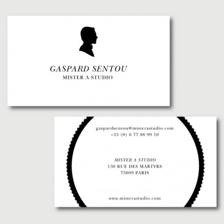 visiting card term
