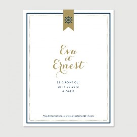 save the date ernest