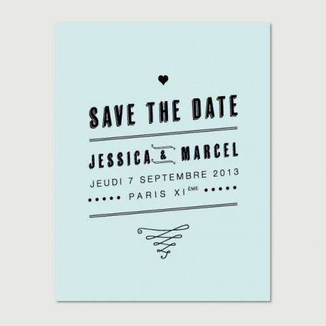save the date marcel