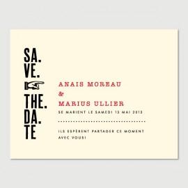 save the date marius