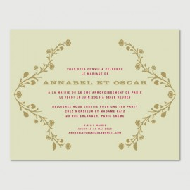 invitation secondaire oscar