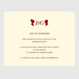 invitation secondaire gaspard