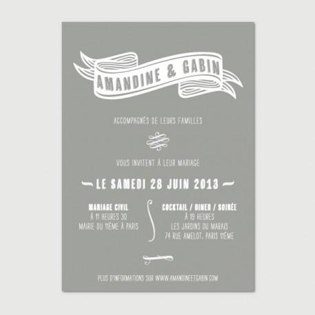 invitation gabin