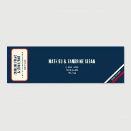 leon mailing label