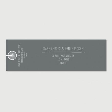emile mailing label