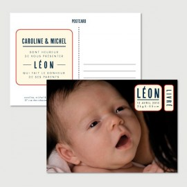 leon baby announcement