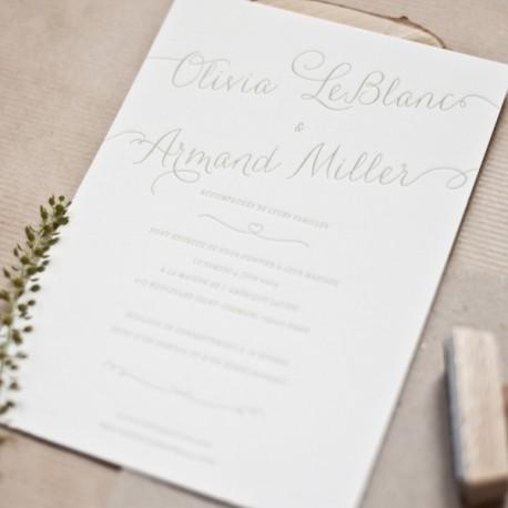 invitation armand