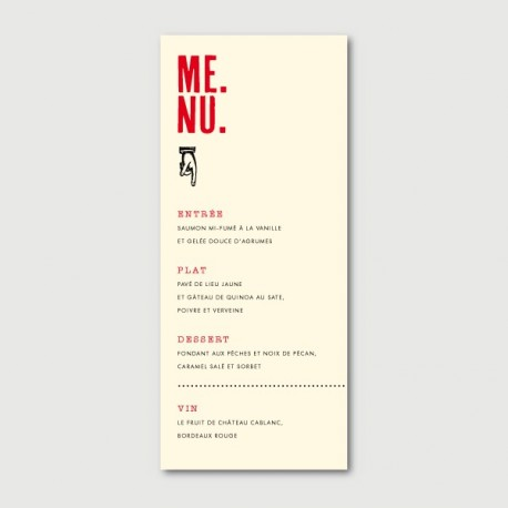 marius menu