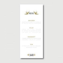 hugo menu