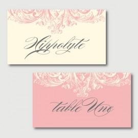 hippolyte place cards