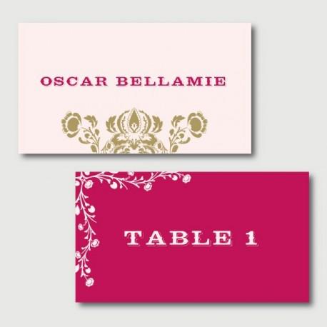 oscar place cards