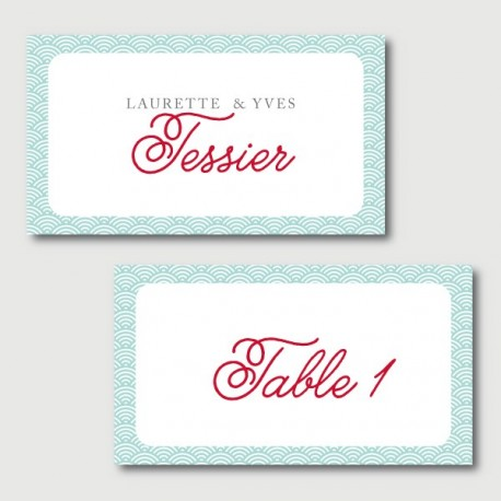 gaston place cards