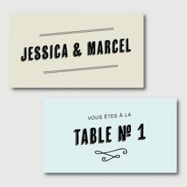 marcel cartes de placement