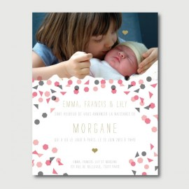 morgane baby announcement