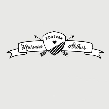 arthur address stamp