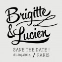 tampon save the date lucien