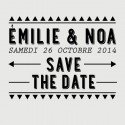 noa save the date stamp