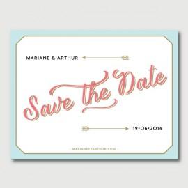 arthur save the date