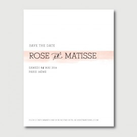 save the date matisse