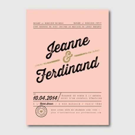 invitation ferdinand