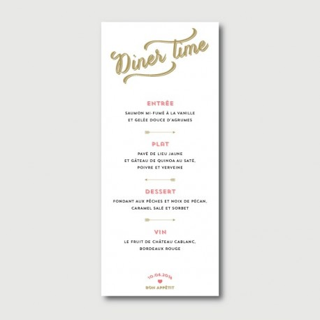 arthur menu
