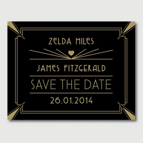 save the date james