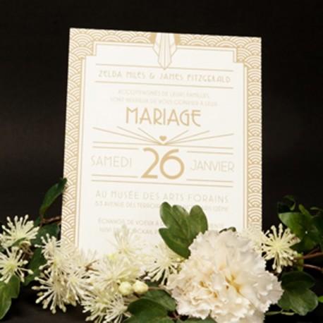 invitation letterpress james