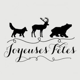 holiday animals stamp