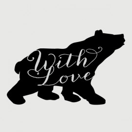 bear for you stamp