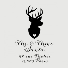 deer address stamp