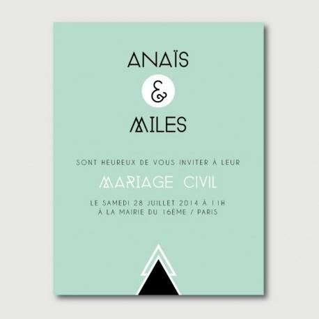 invitation secondaire miles