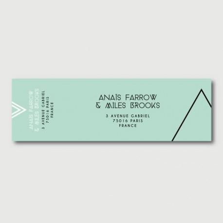 noa mailing label