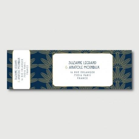 eliott mailing label