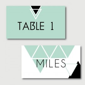 miles place cards