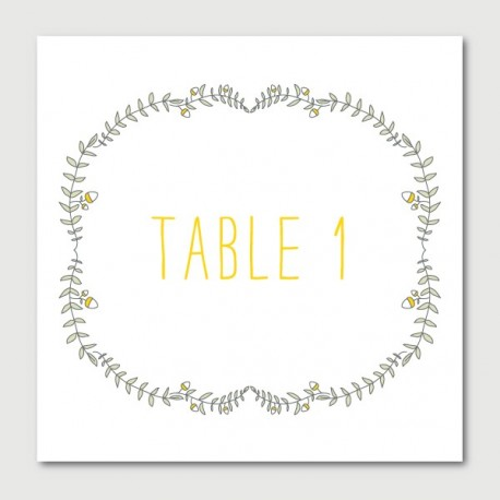 octave table numbers