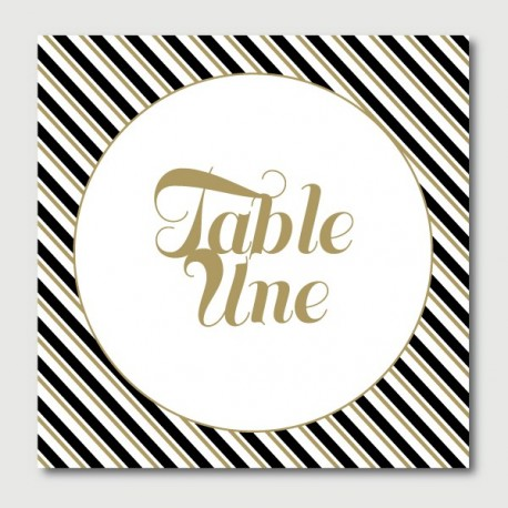 ernest table numbers
