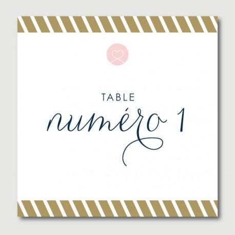 eugene numéro de tables