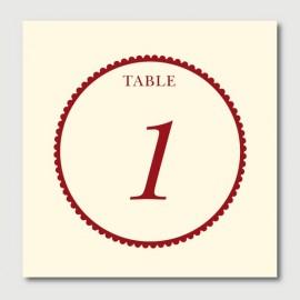 gaspard numéro de tables