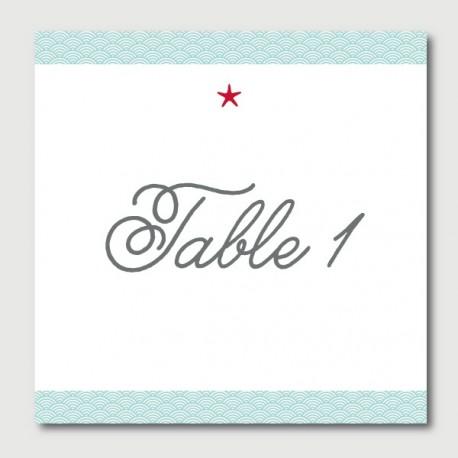 gaston table numbers