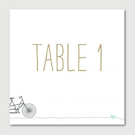 emile numéro de tables