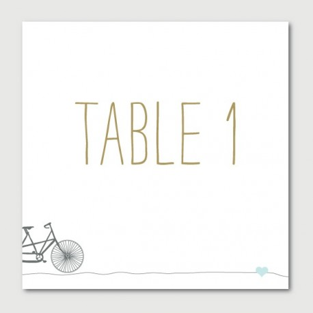emile table numbers