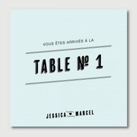 marcel numéro de tables