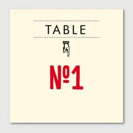 marius numéro de tables