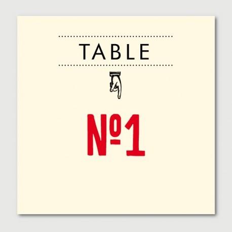 marius table numbers