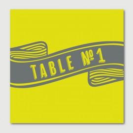 gabin numéro de tables