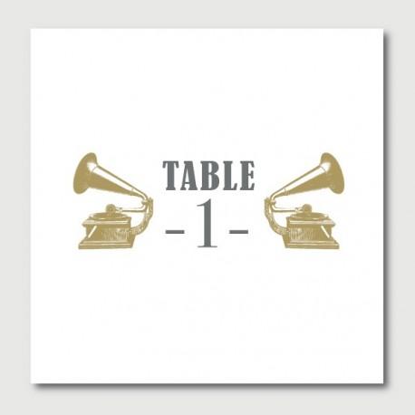 hugo numéro de tables