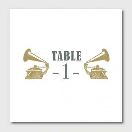 hugo table numbers
