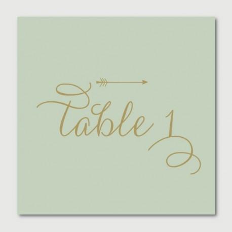 armand numéro de tables