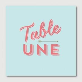 arthur numéro de tables
